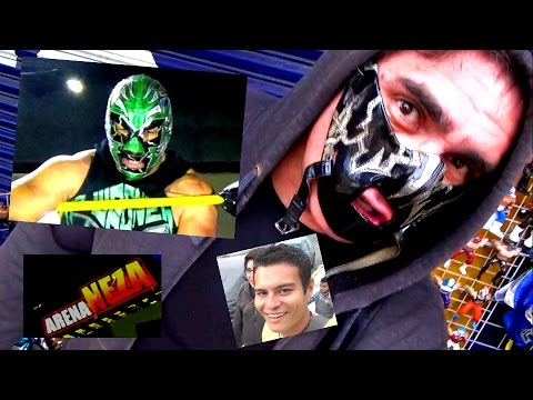 Lucha Libre Mexicana, Avilunatiko en Neza - YouTube