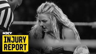 Get The Latest On Candice LeRae S Status NXT Injury Report Feb 13 2020