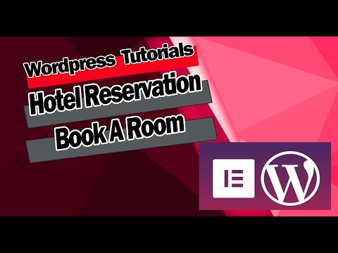 Hotel Reservation Booking System For Wordpress And Elementor