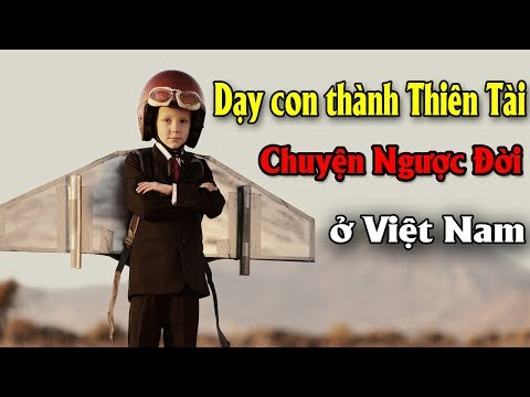 10 Chuyện Ngược đời Trong Cách Nuôi Dạy Con Thành Thiên Tài ở Việt Nam