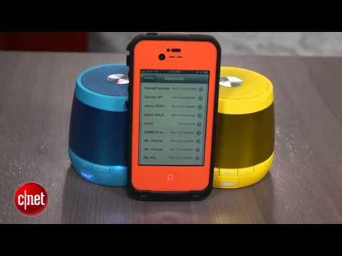 HMDX Jam Plus Bluetooth speaker is designed for pairing
