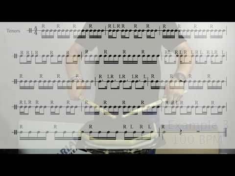 Marching Tenor Drums Warmup - Sound Investments For Musical Returns