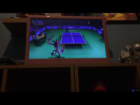 Mario and Sonic at the Rio 2016 Olympic Games table tennis 🏓