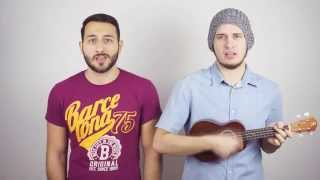 Gambar cover Ellie Goulding - Army (Male Ukulele Cover by Callmeyours)