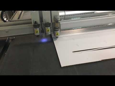 iECHO BK3 Cutting for Cardboard with EOT