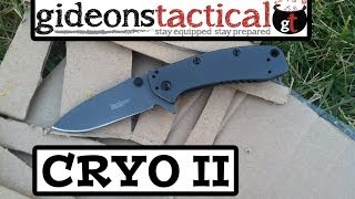 Kershaw Cryo II Knife Review: High Quality on the Cheap?
