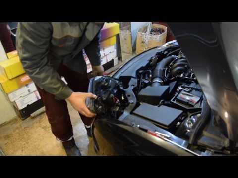 замена лампы ближнего света форд фокус2