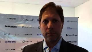 Luis Palmier, vicepresidente de Samsung Electronics Argentina, explica Safety Truck