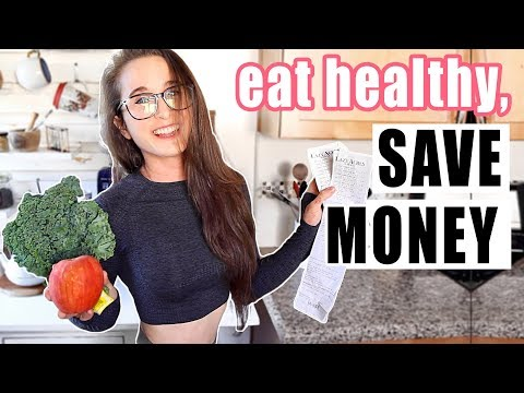 7 TIPS to EAT HEALTHY on a BUDGET | Save Money, Get Fit!