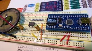 Audio (wav file player) demo by ULTRA Zero