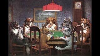 Собаки играющие в покер   Кассиус Кулидж
