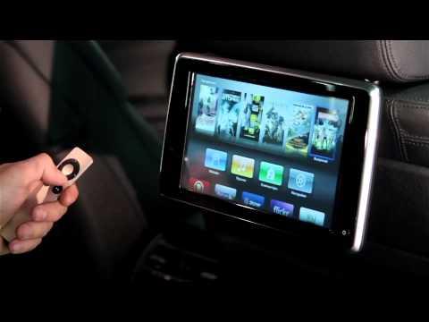 BMW 7 series (F01/02) - Apple TV на оригинальных мониторах для задних пассажиров