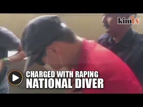 Coach charged with raping national diver