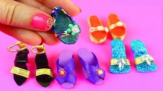 DIY Barbie Bebekler için Ayakkabı Nasıl Yapılır? Kendin Yap!