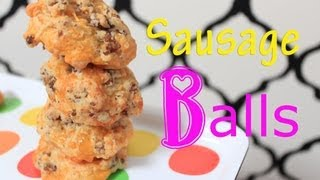 How To Make Sausage Cheese Balls