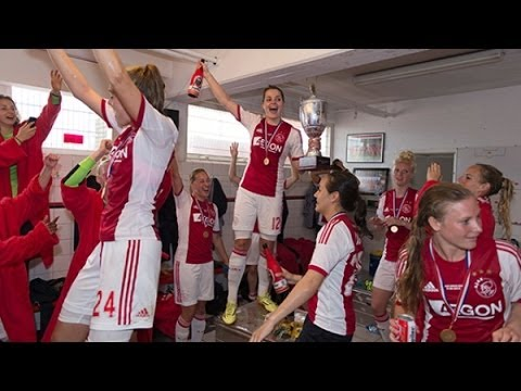 Ajax Vrouwen: 'Feesten tot in de vroege uurtjes' / Ajax Women's party