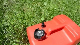 10 литров, бак для лодочного мотора