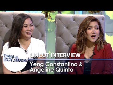 TWBA Uncut Interview: Yeng Constantino & Angeline Quinto