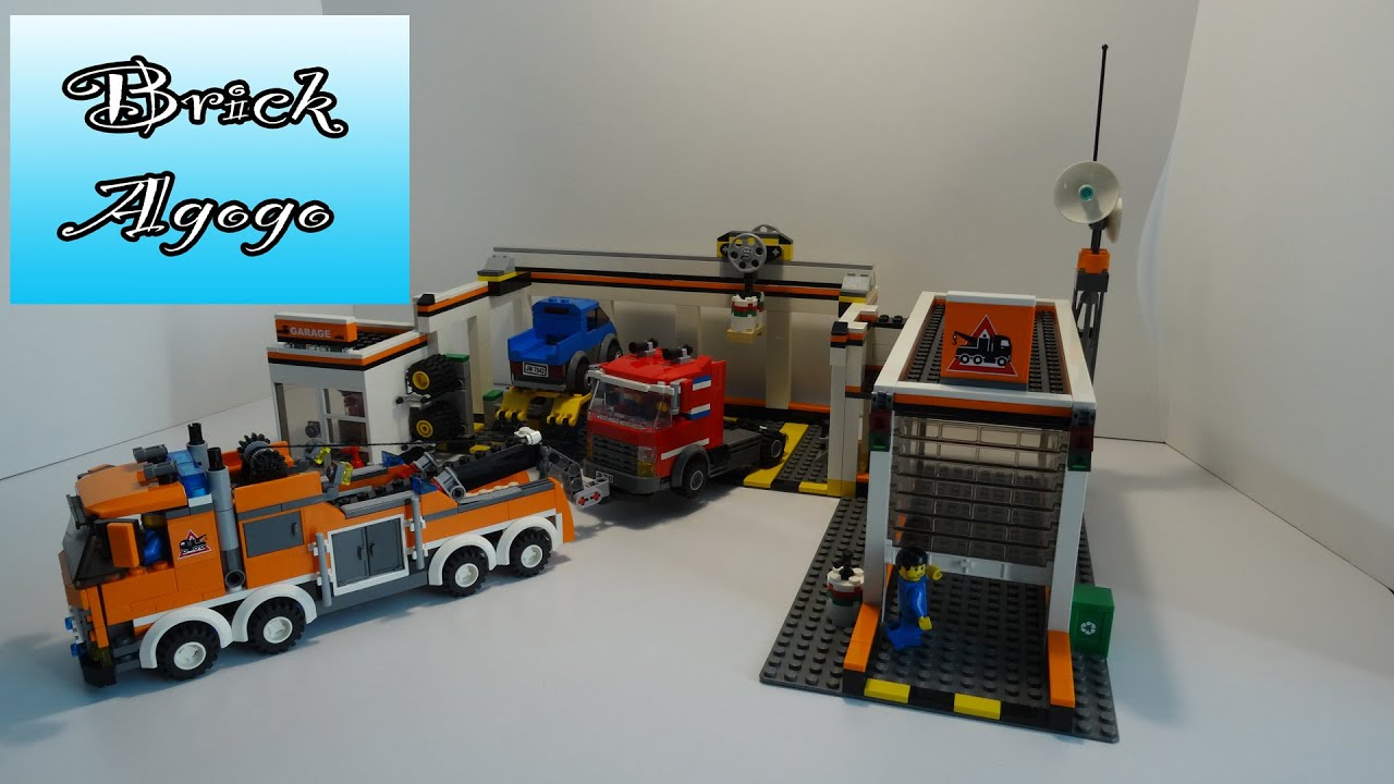 Lego City 7642 Garage - Lego Speed Build - YouTube