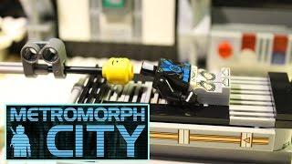 Lego Cyborg - Cyberpunk Film (Metromorph City)