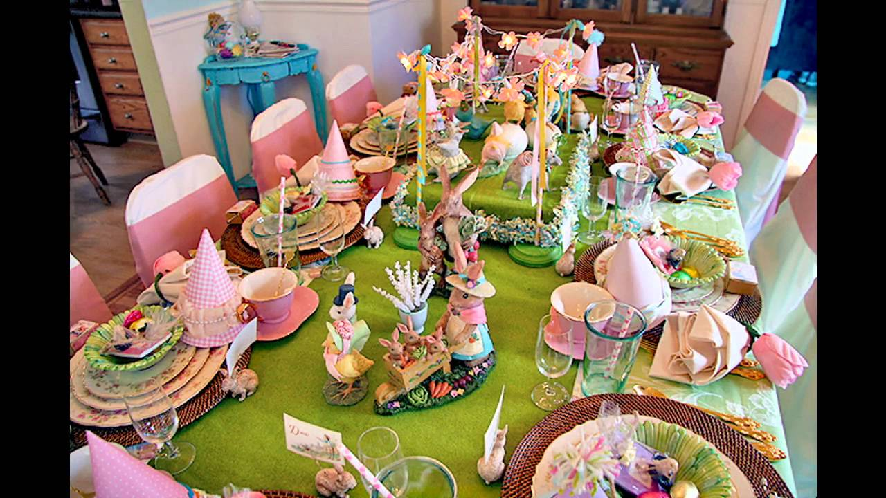 Beautiful Spring Table Decorations Ideas   YouTube