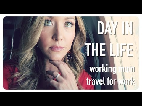 day in the life of a working mom |  emotional first work trip | pumping + traveling | brianna k
