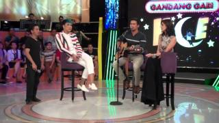 Sam Milby sings a song for Anne Curtis on Gandang Gabi Vice