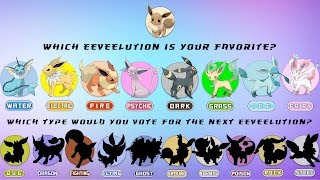Which Eeveelution Is Your Favorite?
