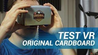 TEST : Original Cardboard, la VR simple et pour tous ?