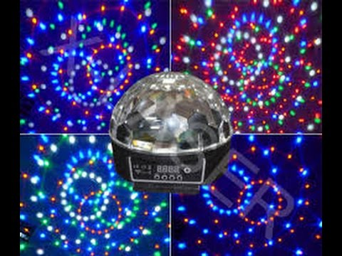 Led crystal magic ball light инструкция на русском