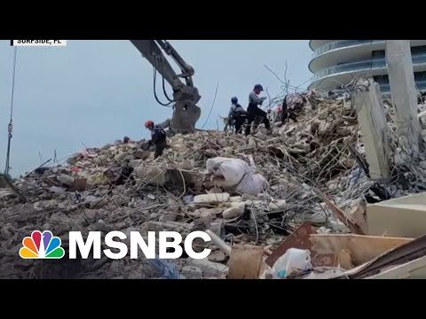 Tropical Storm Threatens Search For Survivors In Surfside Collapse
