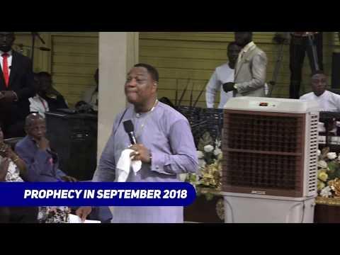 APOSTLE GENERAL MINISTRATION TO FELIX TSHISEKEDI - PRESIDENT ELECT OF CONGO