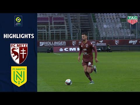 Metz Nantes Goals And Highlights