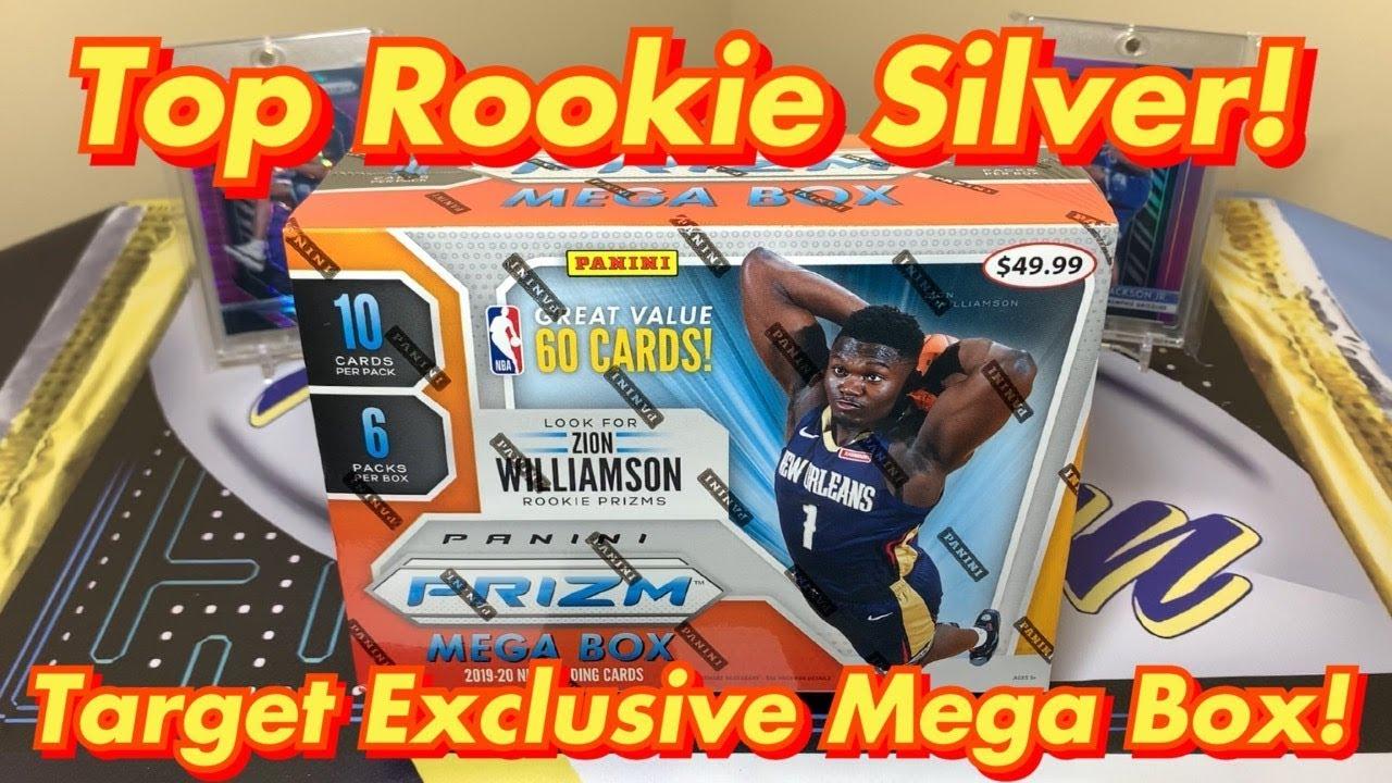 2019-20 Panini Prizm Basketball Retail Target Mega Box Break - TOP ROOKIE SILVER! Exclusive Red Ice!