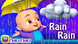 Rain Rain Go Away Song - ChuChu TV Funzone 3D Nursery Rhymes \u0026 Kids Songs
