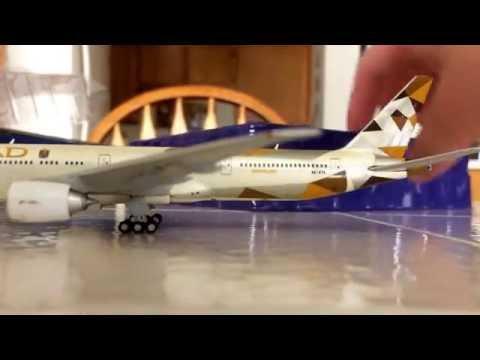 Gemini Jets Etihad Boeing 777-300ER Unboxing/review!
