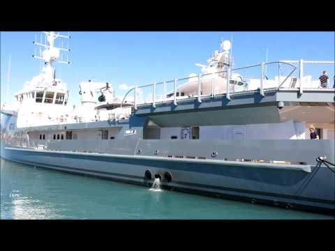 """6711"" BIKINI Super Yacht SPACE and FANTASTIC Damen Sea Axe Fench travel trip"