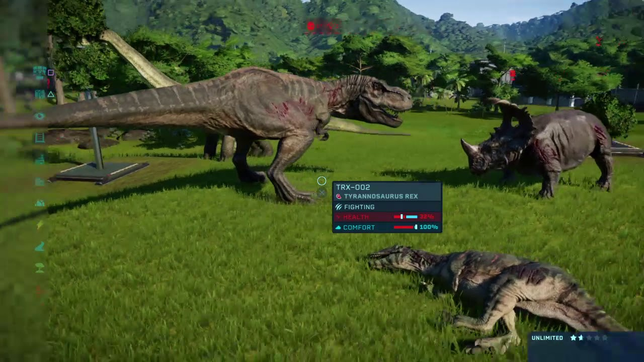 Jurassic World Evolution Rematch (with skins)