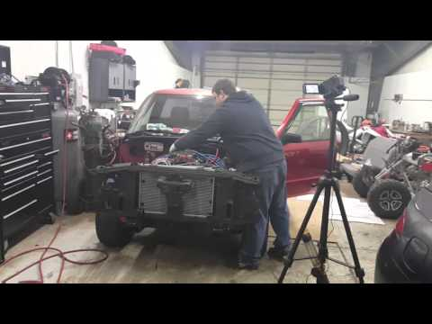 Putting a v8 in my S10 - YouTube