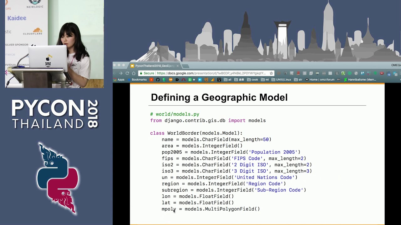 Image from Powerful geographic web framework GeoDjango