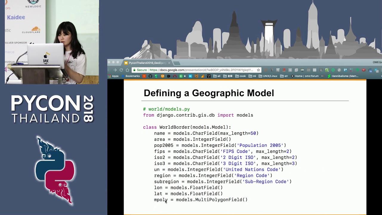 Image from Powerful geographic web framework GeoDjango