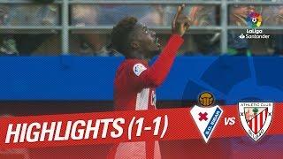 Resumen de SD Eibar vs Athletic Club (1-1)