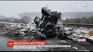 На Вінниччині сталася потрійна ДТП, загинув чоловік