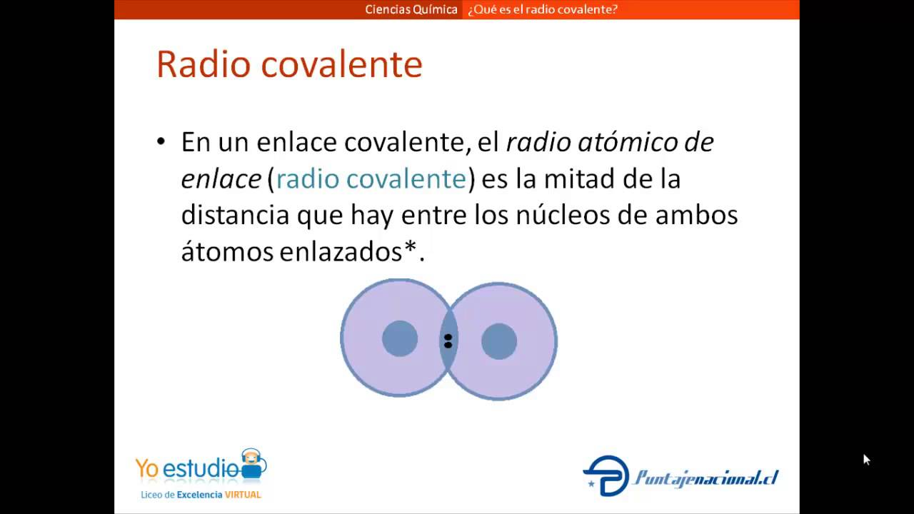 Qu es el radio covalente youtube qu es el radio covalente urtaz Image collections