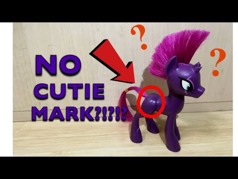Mlp Tempest Doesnt Have A Cutie Mark Unboxing Tempest Shadow