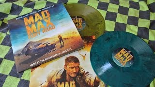 MAD MAX : FURY ROAD Vinyl Soundtrack 2LP Gatefold JUNKIE XL Music on Vinyl