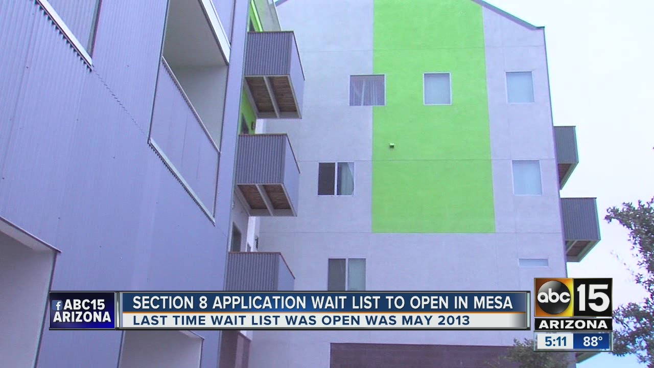 Mesa accepting applications for section 8 housing
