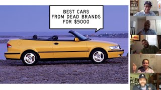 homepage tile video photo for We Find the Best Cars from Dead Brands for Less than $5K: Window Shop with Car and Driver