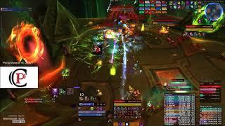 Antorus The Burning Throne - Trials vs. Portal Keeper Hasabel Mythic - Affliction Warlock