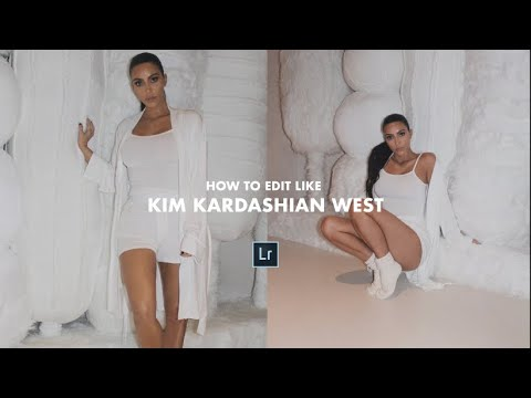 How to edit your pictures like KIM KARDASHIAN WEST